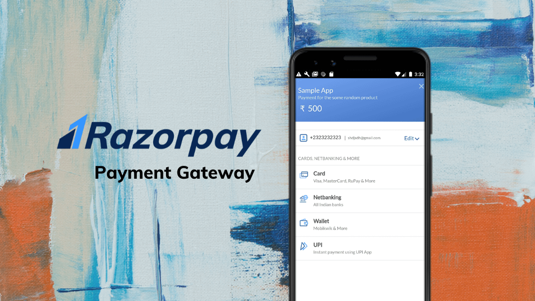 Payments in Flutter with Razorpay PaymentGateway