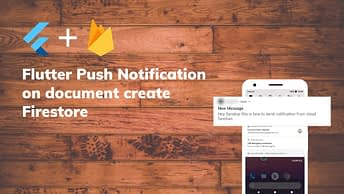 Flutter Push Notification on document create Firestore